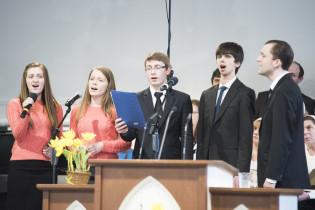Пасхальное богослужение - Квинтет