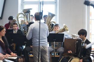 Пасхальное богослужение - Духовой оркестр
