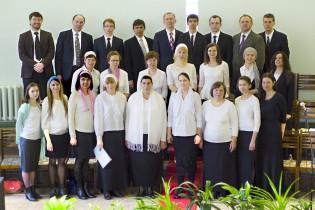 """Наш общий хор посетил церковь """"Голгофа"""" г. Кохтла-Ярве"""